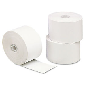 Single ply Thermal Paper Rolls 3 1 8 X 230 Ft White 10 pack