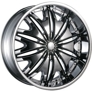24x10 Chrome Velocity Vw820 Wheels 5x115 5x120 13 Lifted Fits Honda Ridgeline