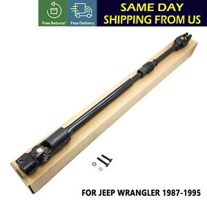 Fits For Jeep Wrangler 1987 1995 Lower Intermediate Steering Shaft 52007017 Us