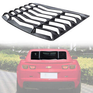 Rear Window Louver Scoop Cover In Gt Lambo Style For Chevrolet Camaro 2010 2015