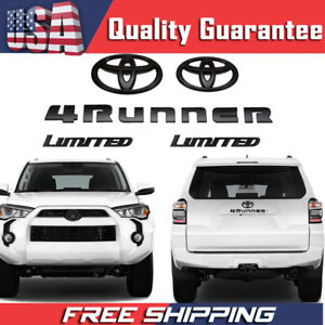 5 Piece Oem Toyota Car Emblems For 2010 2017 Limited 4runner Accessories Emblem