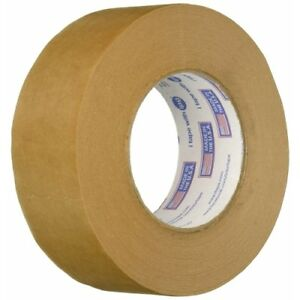 Intertape 9341 1 88in X 60yds Kraft Paper Flatback Carton Sealing Tape Natural