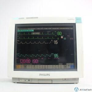 Philips Intellivue Mp70 Multi parameter Monitor W M3001a Multi parameter Module