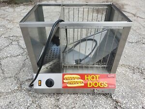 Avantco Hds 200 Commercial 200 Dog 48 Bun Hot Dog Steamer 120v 1300w