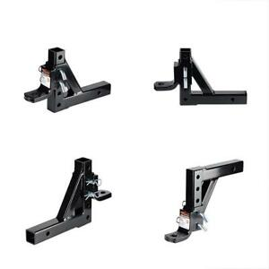 Ball Mount Hitch Drop Adjustable Trailer 8 Position 6 000 600 Lbs Gtw tw New New