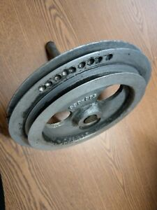 Atlas Craftsman 10 12 Lathe Countershaft 2 Step Pulley 560 060 And Shaft