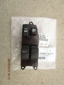 07 11 Toyota Fj Cruiser Driver Left Side Master Power Window Switch Brand New