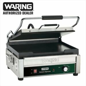 Waring Wfg275 Tostato Supremo Panini Press Sandwich Grill Full Warranty Flat