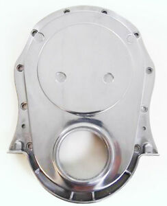 Big Block Chevy Timing Chain Cover Polished Aluminum 1 Piece