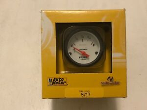 Auto Meter 2 1 16 Sse Phantom Fuel Level Gauge 0 30