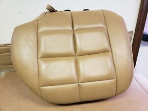 1996 1998 Jeep Grand Cherokee Limited Pass Rh Side Bottom Leather Seat Cover Tan
