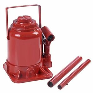 Goplus 20 Ton Hydraulic Bottle Jack Low Profile Automotive Shop Axle Hoist Lift