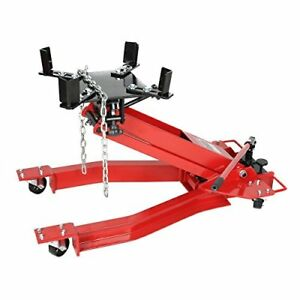 Goplus Low Profile Transmission Hydraulic Jack Lift For Auto Shop Repair 1 Ton