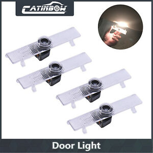 4pcs Led Car Door Welcome Laser Projector Logo Ghost Shadow Light For Nissan