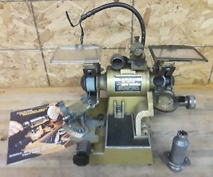 Darex Precision Drill Bit Sharpener grinder With 1 Collet read