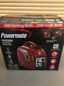Powermate Pm2000i 2000 watt Portable Gas Inverter Generator Pm0152000