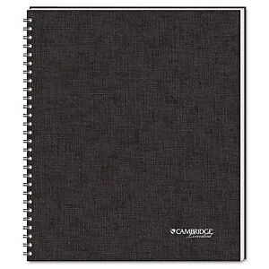 Side Bound Guided Business Notebook Quicknotes 11 X 8 1 2 80 Sheets