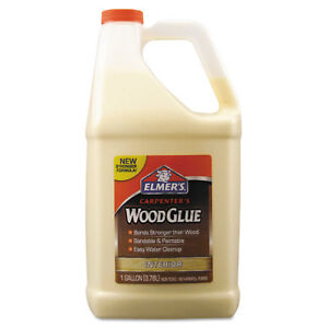 Carpenter Wood Glue Beige Gallon Bottle