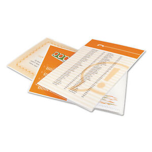 Ultraclear Thermal Laminating Pouches 3 Mil 9 X 11 1 2 100 box