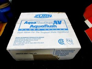New Zurn Z6014 ws1 bg yb Aquaflush Manual Exposed Flush Valve