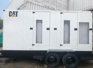 400 Kw Cat Caterpillar Xq400 480v 3 Phase 60 Hz Portable Diesel Generator Set