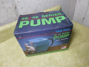 Little Giant 3e 12nr Submersible Pump New In Box