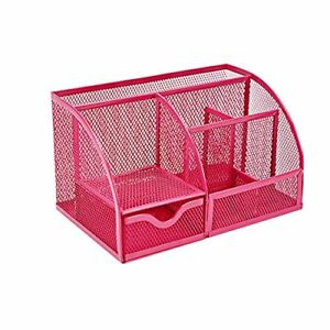 Vanra Pen Case Hitto Holder Pink Mesh Style Desk Organizer Japan