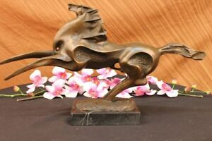 Bronze Marble Statue Abstract Fly Horse Sculpture Hot Cast Figurine Figure Sale
