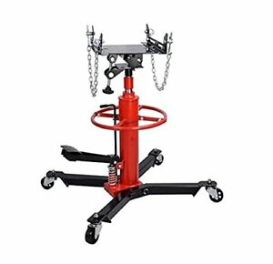 0 5 Ton Hydraulic Transmission Jack Stand Gearbox Lifter Hoist 2 Stage 500kg