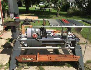 Shopsmith Mark 5 Woodworking Set up Lathe Band Table Saw Jointer accessories