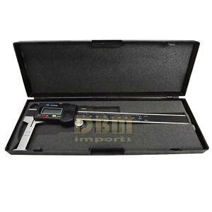 Digital 6 Inside Groove Vernier Caliper Ruler Micrometer Gauge Indicator