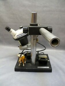 Stereozoom 4 Microscope With Boom Stand Bausch Lomb Zoom Range 0 7 3 0x