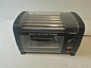 Dolce Electric Hot Dog Roller Grill With Bun Warmer Model Hdm405 7