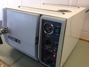 Medical Dental Autoclave Tuttnauer 2340m 1 Year Warranty 9 x18 Chamber