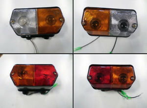 Front And Tail Light Set For Long Utb Universal Tractor 445 530 550 640 643