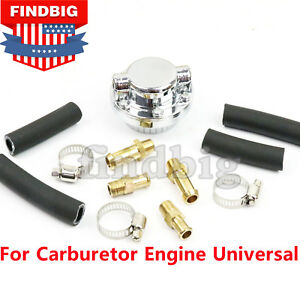 New Manual Fuel Pressure Regulator Adjustable For Carburetor Engine Universal Us