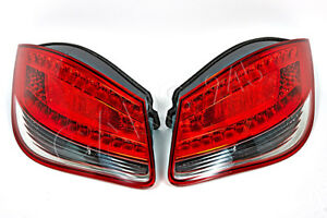 Porsche Cayman Boxster 987 Facelift 2009 2012 Tail Lights Rear Lamps Pair Oem