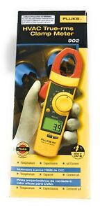 Fluke 902 True Rms Hvac Clamp Meter Brand New