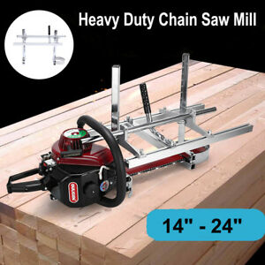 Chainsaw Guide Bar Chain Saw Mill From 14 To 24 Log Planking Lumber Cutting