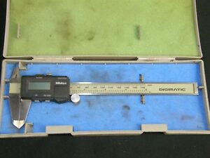 Mitutoyo Digimatic 500 321 0005 6 Electronic Caliper Pre owned Free Shipping