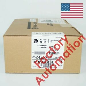 2018 2019 Us Stock Allen bradley Panelview Plus 6 6 Color Touch Dc 2711p t6c20d8