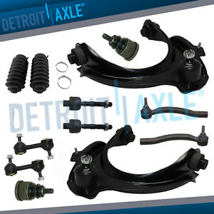 12pc Front Upper Control Arm Suspension Kit For 2003 2004 2005 Honda Accord 3 0l