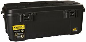 Pickup Truck Bed Garage Storage Locking Tool Box Organizer Trunk Box With Wheels
