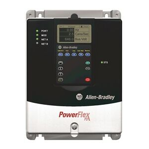 Us Stock Allen bradley Powerflex 70 Ac Drive 8 7 A At 4 Kw 20a 20ac8p7a0aynanc0