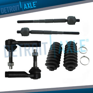 Front Inner Outer Tie Rod Boot Kit 2010 2017 Lincoln Mks Mkt Ford Flex Taurus