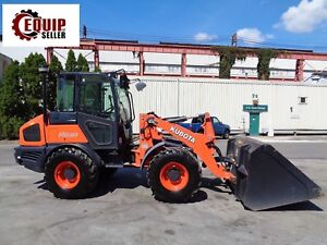 2016 Kubota R630 Wheel Loader Enclosed Cab