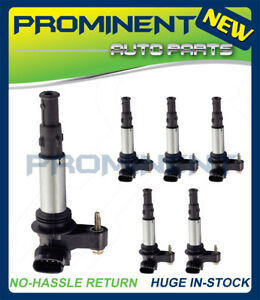 6x Ignition Coil Uf375 Replacement For Cadillac Cts Srx Allure Lacrosse 2 8 3 6l