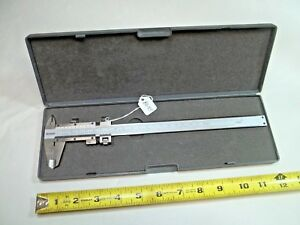 Westward 8 001 Machinist Vernier Caliper Stainless Steel And Hardened