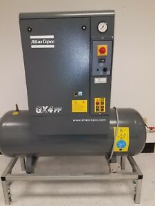 Atlas Copco Gx4ff Air Compressor