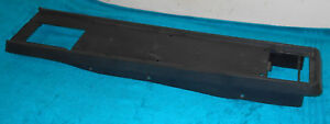 1964 1965 1966 Ford Mustang Fastback Gt Coupe Orig Black A c Floor Console Base